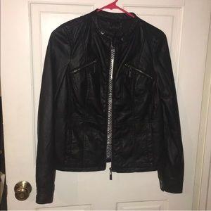 Jackets & Blazers - NWT Leather jacket (faux)